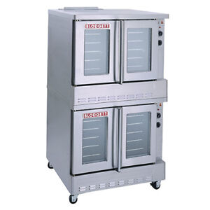 Blodgett Double Stack Convection Oven Natural Gas Sho 100 g