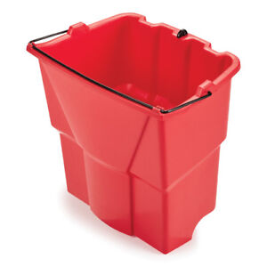 Rubbermaid Dirty Water Bucket For Wavebrake 2 0 Mop Buckets Red