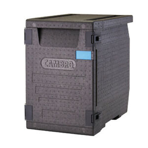 Cambro Epp400110 Cam Gobox Insulated Carrier Front Load 90 9 Qt