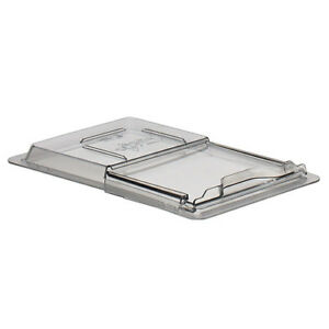 Cambro 1218sccw Sliding Lid For Half size Cambro Food Storage Boxes Clear