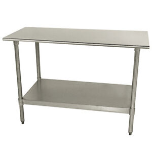 Central Exclusive Tts305x Stainless Steel Work Table 60 wx30 d