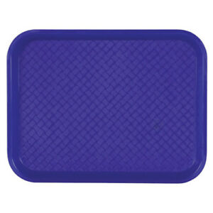 Fast Food Tray 12 wx16 d Black Case Of 24