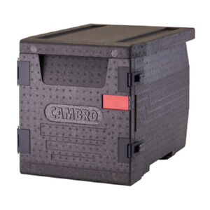 Cambro Epp300110 Cam Gobox Insulated Carrier Front Load 63 4 Qt