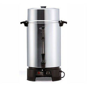 Focus Foodservice Fcmla100 Cool touch Commercial Coffee Urns 100 Cup Capacity