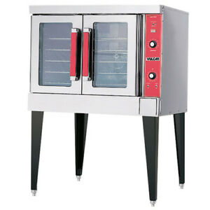 Vulcan Vc4gd Single Stack Natural Gas Convection Oven Standard Depth