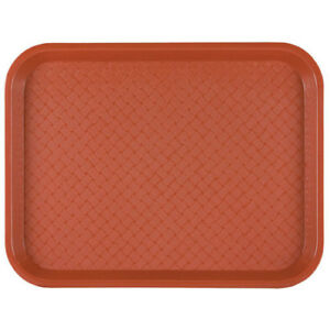 Fast Food Tray 10 wx14 d Black Case Of 24