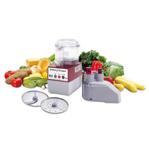 Robot Coupe R2n 3 Qt Commercial Food Processor Gray