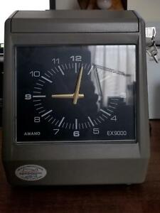 Amano Ex 9000 Heavy Duty Electronic Time Recorder