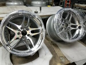 Bmw Rims 18 M Sport Parallel Diamond Cut Alloys