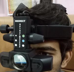 Indirect Binocular Ophthalmoscope With Extra Battry Bank