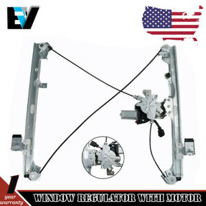 Power Window Regulator For 99 06 Silverado 1500 Front Driver Side With Motor