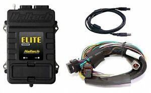 Haltech Ht 150802 Elite 1000 Ecu Basic Universal Wire in Harness Kit 2 5m 8ft