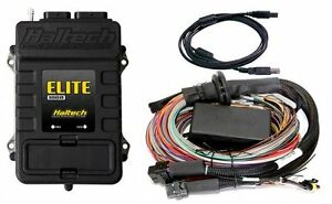 Haltech Ht 150804 Elite 1000 Ecu 2 5m 8ft Premium Universal Wire in Harness