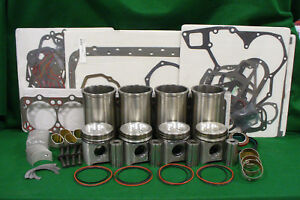 Rp658 John Deere Engine 4045d Major Overhaul Kit 455g 344e 410d 450g 493d 410c