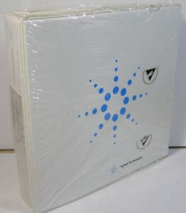Hp Agilent 83751a b 83752a b Synthesized Sweeper User s Guide New In Plastic