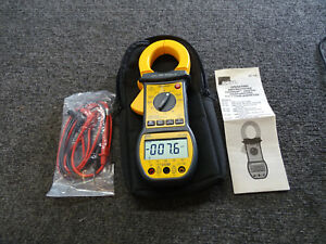 Ideal 61 726 Digi Snap Digital Clamp Multimeter W Test Leads Bag Manual