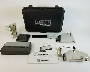 Mahr Federal Pocket Surf Iii Surface Finish Roughness Gage Eas 2632 Wr