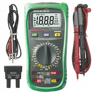 Mastech Ms8360e Digital Multimeter With Non contact Voltage Detector And Lcr