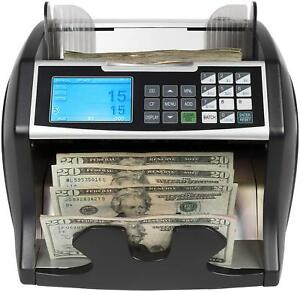 Royal Sovereign Front Loading Bill Counter With Counterfeit Detection And Value
