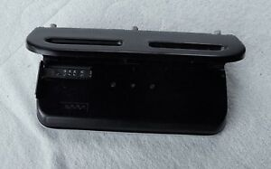 Acco Swingline Heavy Duty 3 Hole Adjustable Paper Punch Black Base Tray