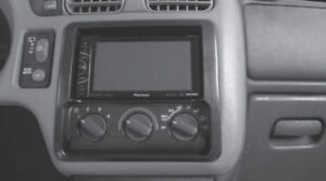 Double Din Car Radio Dash Kit For 1998 01 Chevrolet Blazer S 10 Gmc Jimmy Sonoma