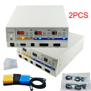 2x120w High Frequency Electrosurgical Unit Leep Eectric Knife Electrotome Device