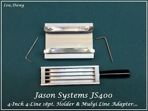 Jason Systems Js400 18pt Type Holder Adapter Hot Foil Stamping Machine