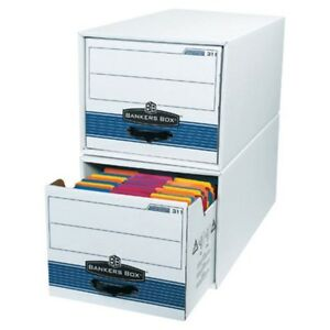 Letter Size Stor drawer Steel Plus File Storage Boxes box Of 6