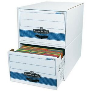 Legal Size Stor drawer Steel Plus File Storage Boxes box Of 6