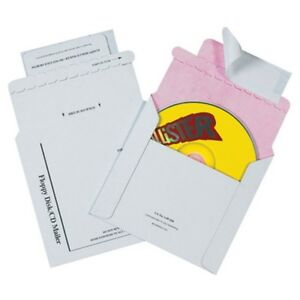 Tyvek Lined Cd Mailers box Of 100