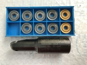 Valenite 1 000 Dia Insert Ball End Mill 10 insert