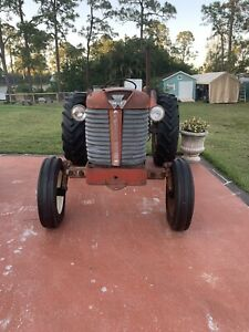 1962 Massey Ferguson 65 Tractor Diesel Runs Great