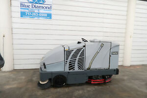 2011 Advance Nilfisk 4800 Captor 48 Ride On Sweeper Scrubber Floor Clean
