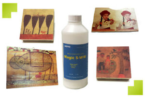 Wood Sublimation Coat 2 Lb magic 5 ww