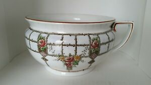 Imperial Myott And Son English Porcelain Chamber Pot
