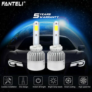 2x 880 881 H27 6000k Hid White 1915w 287250lm Led Foglight Fog Light Conversion