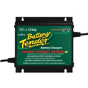 Battery Charger For Boat Marine Maintainer Automotive Car Waterproof 12v Atv Suv