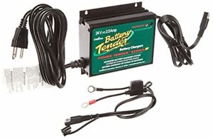 24v Battery Charger Maintainer For Boat Lawn Mower Aircraft Waterproof Generator
