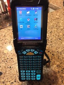 Symbol Motorola Mc9090 Windows Mobile Pc Barcode Scanner