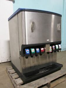 servend Ngf 250 Commercial Counter Top Lighted 8 Heads Soda Ice Dispenser