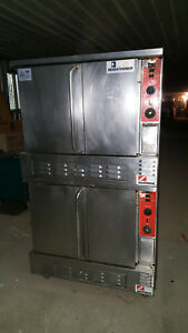 Southbend Marathoner Double Deck Stack Natural Gas Full Size Convection Oven Set