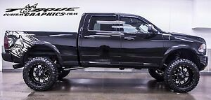 Ram Up Bed Graphics Vinyl Decal Sets For Dodge Ram Vehicles Custom Graphics