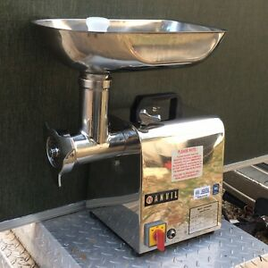 New Anvil America Commercial Electric Meat Grinder 3 4 Hp Nsf Min0012 12 New