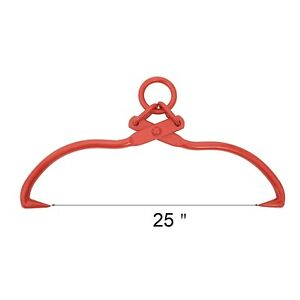1916 Earth Worth Skidding Tongs With Ring 32 Inch Red
