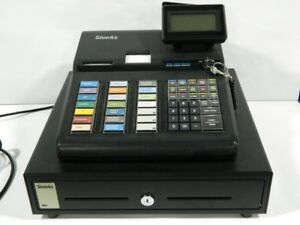 Sam4s Sps 345 Electronic Cash Register With Journal Printer Used 1 Year