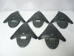 Lot Of 5 Cisco Cp 7935 Unified Ip Conference Phone Station Speaker Phone keypad