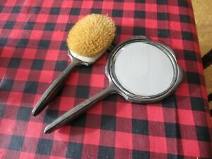 Circa 1920s Sterling Silver Brush Mirror Vanity Set Scrap 500 Grams Actual