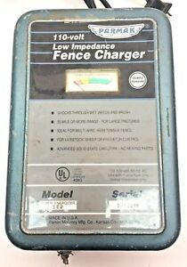 Parmak Percision 110 Volt Low Impedance Fence Charger Super Energizer Usa Made