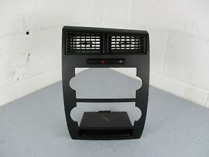 05 07 Dodge Charger Magnum Radio Bezel Trim Cover With Air Vents A c Heater Vent
