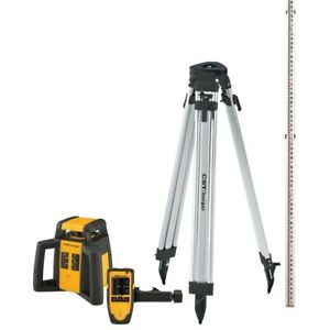 2000 Ft Self leveling Horizontal Rotating Laser Level Kit 5 piece cst berger